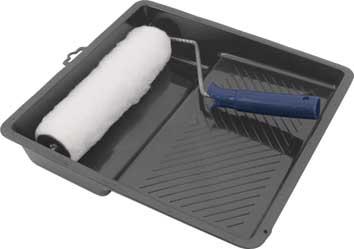 Валик меховой FIT, 250 мм с ванночкойSC-FD421005Валик из искусственного меха с ванночкой FIT используется для внутренних работ. Применяется для высококачественной окраски гладких поверхностей вододисперсионными красками. Характеристики: Материал: пластик, металл, искусственный мех. Размеры валика: 33 см х 26 см х 5 см. Длинна ручки валика: 15 см. Диаметр бюгеля: 0,6 см. Размеры ванночки: 32 см х 31 см. Глубина ванночки:6 см. Размеры упаковки: 33 см х 31 см х 10 см.