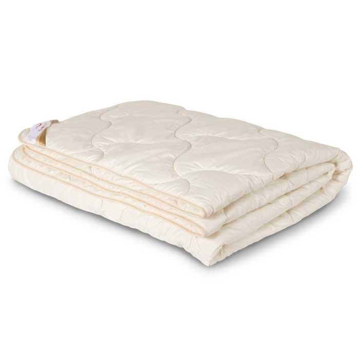 "Одеяло всесезонное OL-Tex ""Ангора"", цвет: бежевый, 172 х 205 см ОАС-18-3"