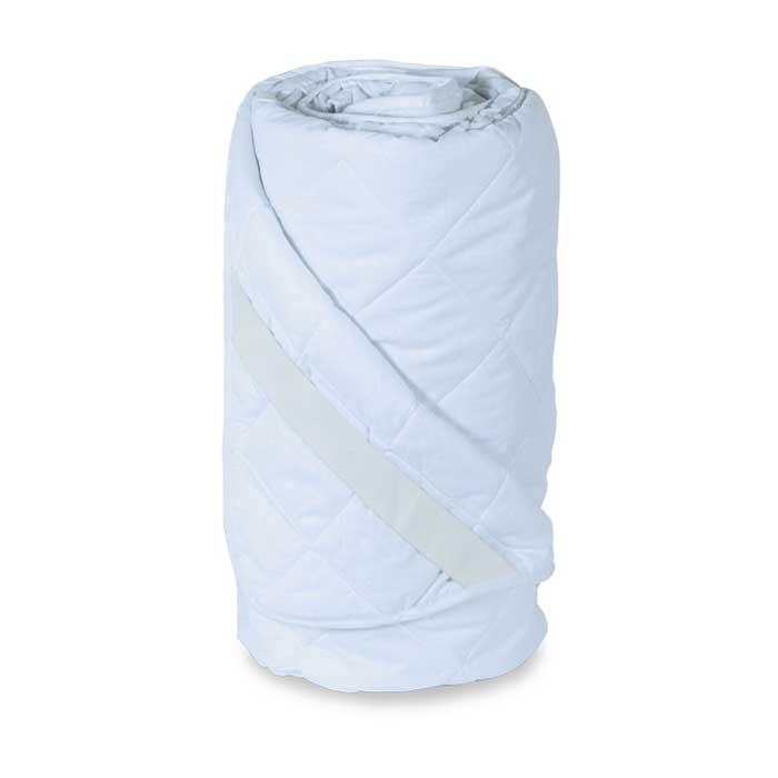 Наматрасник стеганый Miotex Холфитекс, поликоттон, цвет: белый, 200 см х 200 смМХП-200Чехол стеганого набивного наматрасника Miotex Холфитекс выполнен из поликоттона - это смесовая ткань (комбинация хлопка и полиэстера), отличается долговечностью, малой усадкой, низкой сминаемостью, хорошими гигиеническими свойствами. Наполнитель - холфитекс. Холфитекс - современный экологически чистый синтетический материал, изготовленный по новейшим технологиям. Его уникальность заключается в расположении волокон, которые позволяют моментально восстанавливать форму и сохранять ее долгое время. Изделия с использованием Холфитекса очень удобны в эксплуатации - их можно часто стирать без потери потребительских свойств, они быстро высыхают, не впитывают запахов и совершенно гиппоаллергенны. Холфитекс также обеспечивает хорошую терморегуляцию, поэтому изделия с наполнителем из холфитекса очень комфортны в использовании. Наматрасник Miotex Холфитекс - незаменимая вещь в вашей спальне, которая продлевает срок службы матраса, защищает его от пыли и загрязнений. Наматрасник...