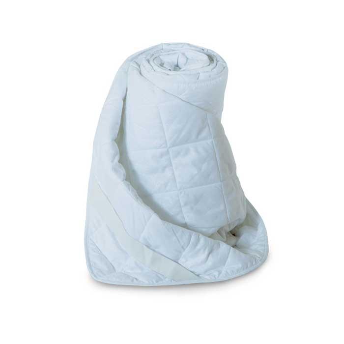 Наматрасник стеганый Miotex Холфитекс, цвет: белый, 200 см х 200 смМХМ-200Чехол стеганого набивного наматрасника Miotex Холфитекс выполнен из мягкой приятной на ощупь микрофибры. Наполнитель - Холфитекс. Холфитекс - современный экологически чистый синтетический материал, изготовленный по новейшим технологиям. Его уникальность заключается в расположении волокон, которые позволяют моментально восстанавливать форму и сохранять ее долгое время. Изделия с использованием Холфитекса очень удобны в эксплуатации - их можно часто стирать без потери потребительских свойств, они быстро высыхают, не впитывают запахов и совершенно гиппоаллергенны. Холфитекс также обеспечивает хорошую терморегуляцию, поэтому изделия с наполнителем из холфитекса очень комфортны в использовании. Наматрасник Miotex Холфитекс - незаменимая вещь в вашей спальне, которая продлевает срок службы матраса, защищает его от пыли и загрязнений. Наматрасник крепится с помощью надежных резинок, расположенных по углам. Он прост в уходе и легко стирается в стиральной машине. Наматрасник...