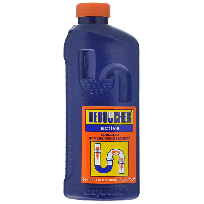 Средство для удаления засоров Deboucher Active, 1 л2875Средство для удаления засоров Deboucher Active предназначено для прочистки канализационных труб, сифонов, а также ликвидации засоров в раковинах и унитазах. Эффективно удаляет растительные и животные жиры, органические загрязнения, пищевые остатки, волосы, бумагу. Устраняет сильные засоры, не повреждает трубы, пластик и эмаль. Устраняет неприятные запахи и бактерии. Удобный флакон снабжен безопасной крышкой с функцией «защита от детей». Характеристики: Объем: 1 л. Артикул: 2875. Товар сертифицирован.