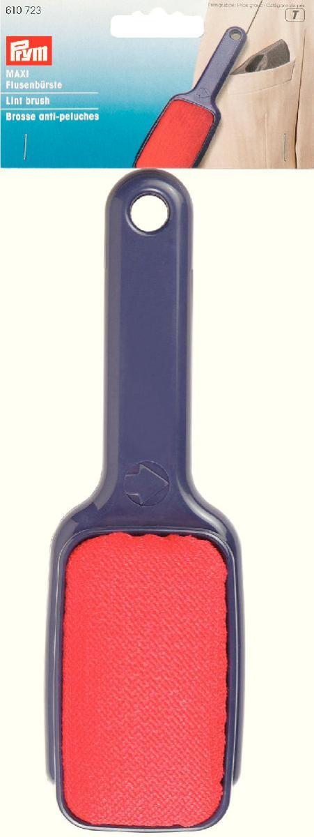 Щетка для удаления ворсинок и катышек с ручкой Prym, двухсторонняя610723Щетка с ручкой Prym с легкостью удалит катышки,ворсинки, пух с поверхности одежды, ковров, штор и многого другого. щетка выполнена и высококачественных материал, имеет удобную ручку двух стороннюю рабочую поверхность. С ней ваши вещи обретут новый вид! Характеристики: Материал: пластик, текстиль. Размер рабочей поверхности: 10 см х 6 см. Длина: 23 см. Цвет: синий, красный. Размер упаковки: 31 см х 11 см х 4,5 см. Изготовитель: Германия. Артикул: 610723.