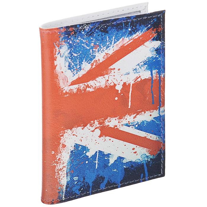 Визитница Британский флаг в краске. VIZIT-146INT-06501Визитница Mitya Veselkov, выполненная из натуральной кожи, оформлена изображением британского флага. Внутри содержится блок из прозрачного пластика на 18 визиток и 2 прозрачных вертикальных кармана. Яркая и оригинальная визитница подчеркнет вашу индивидуальность и изысканный вкус. Визитница стильного дизайна может быть достойным и оригинальным подарком.Характеристики:Материал: натуральная кожа, пластик. Размер (в сложенном виде): 7 см х 10,3 см х 1 см. Артикул: VIZIT146.