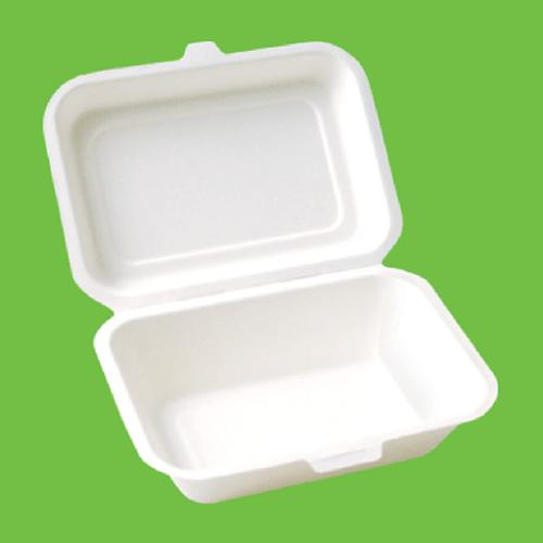 Набор ланч-боксов Gracs, биоразлагаемых, цвет: белый, 600 мл, 10 штB001Набор Gracs состоит из 10 биоразлагаемых ланч-боксов, выполненных из экологически чистого материала - сахарного тростника. Материал не содержит токсинов и канцерогенов. Набор Gracs можно использовать как для холодных, так и для горячих продуктов. Набор можно использовать в микроволновой печи. Одноразовая биоразлагаемая посуда Gracs- полезно для здоровья, безопасно для окружающей среды! Размер ланч-бокса: 18 см х 14 см х 4,5 см. Размер крышки: 18 см х 13 см х 2 см.