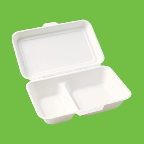 Набор ланч-боксов Gracs, биоразлагаемых, двухсекционных, цвет: белый, 1000 мл, 10 штB002Набор Gracs состоит из 10 биоразлагаемых ланч-боксов, выполненных из экологически чистого материала - сахарного тростника. Материал не содержит токсинов и канцерогенов. Набор Gracs можно использовать как для холодных, так и для горячих продуктов. Набор можно использовать в микроволновой печи. Одноразовая биоразлагаемая посуда Gracs- полезно для здоровья, безопасно для окружающей среды! Размер ланч-бокса: 24 см х 16 см х 4 см. Размер крышки: 24 см х 16 х 2 см.