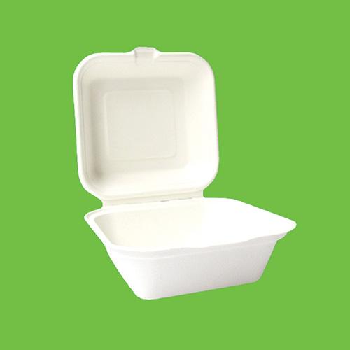 Набор бургер-боксов Gracs, биоразлагаемых, цвет: белый, 16 х 16 см, 10 штB003Набор Gracs состоит из 10 биопазлагаемых бургер-боксов, выполненных из экологически чистого материала - сахарного тростника. Материал не содержит токсинов и канцерогенов. Набор Gracs можно использовать как для холодных, так и для горячих продуктов. Набор можно использовать в микроволновой печи. Одноразовая биоразлагаемая посуда Gracs- полезно для здоровья, безопасно для окружающей среды! Размер бургер-бокса: 16 см х 16 см х 4,5 см. Размер крышки: 15 см х 15 см х 3,5 см.