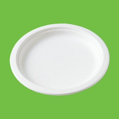 Набор тарелок Gracs, биоразлагаемых, с бортиком, цвет: белый, диаметр 18 см, 20 штP011Набор Gracs состоит из 10 биоразлагаемых тарелок с бортиками, выполненных из экологически чистого материала - сахарного тростника. Материал не содержит токсинов и канцерогенов. Набор Gracs можно использовать как для холодных, так и для горячих продуктов. Набор можно использовать в микроволновой печи. Одноразовая биоразлагаемая посуда Gracs- полезно для здоровья, безопасно для окружающей среды! Размер тарелки: 18 см х 18 см х 1,5 см.