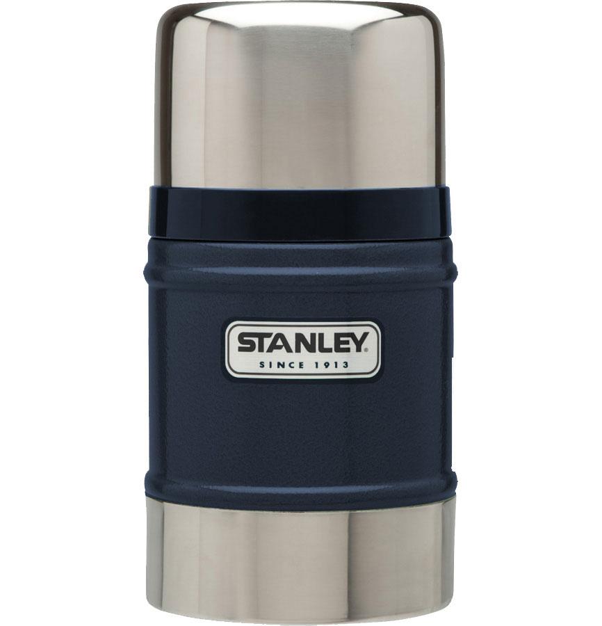 Термос Stanley Classic Vacuum Flask, с широким горлом, цвет: темно-синий, 0,5 лa026124Термос Stanley Classic Vacuum Flask с широким горлышком выполнен из нержавеющей стали ипрекрасно подойдет для транспортировки продуктов питания, напитков или супов. Он удерживает тепло и холод на протяжении 12 часов и будет незаменим во время путешествий, поездок на пикник или на дачу. Особенности термоса Термос Stanley Classic Vacuum Flask:- наружное покрытие - абразивостойкая эмаль;- корпус и внутренняя колба выполнены из нержавеющей стали;- вакуумная изоляция;- герметичность;- крышка-термостакан объемом 354 мл.Гарантийный срок 5 лет. Возврат товара возможен только через сервисный центр.Гарантийный центр:м. ВДНХ, Ботанический сад 129223, г. Москва, Проспект Мира, 119, ВВЦ, строение 323+7 495 974 3494service@omegatool.ru Время работы сервисного центра: Пн-чт: 10.00-18.00Пт: 10.00- 17.00Сб, Вс: выходные дни