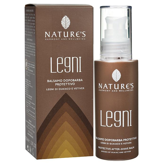 """Nature's Бальзам после бритья """"Legni"""", защитный с гваяковым деревом и ветивером, 100 мл 60190502"""