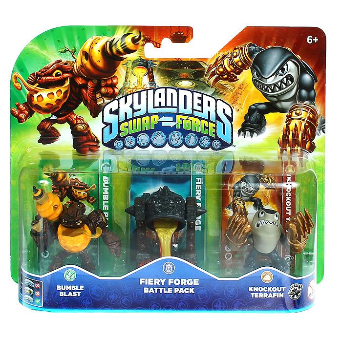 Skylanders Swap Force. Боевой набор: Bumble Blast, Knockout Terrafin, Fiery Forge