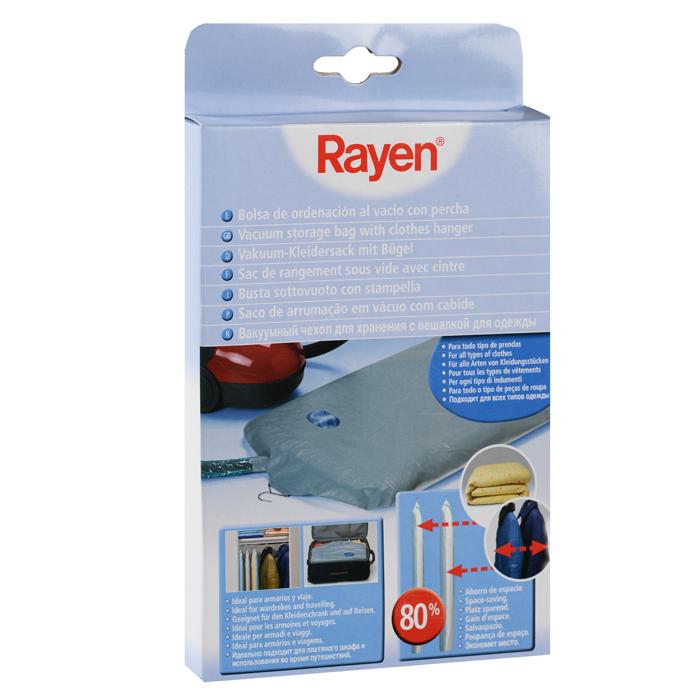 Вакуумный чехол Rayen с вешалкой для одежды, 110 см х 60 смES-412Вакуумный чехол Rayen защищает одежду от пыли и других загрязнений и поможет надолго сохранить ее безупречный вид. Чехол изготовлен из высококачественных полимерных материалов. Достоинство чехла:экономия места до 80%;надежная защита вещей;универсальность. Характеристики: Материал: ПВХ, полиэстер. Размер короба: 110 см х 60 см. Размер упаковки: 24 см х 14,5 см х 2 см. Производитель: Испания. Артикул: 37001955.