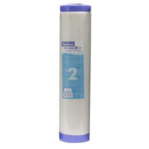 Сменный картридж Барьер Профи BB 20 СмягчениеР531Р00Сменный картридж Барьер Профи BB 20 Смягчение применяется для снижения жесткости воды. Применение технологии byPass позволяет увеличить ресурс фильтроэлемента и избежать побочного эффекта гиперумягчения питьевой воды в начале ресурса. Может использоваться в водоочистителе Барьер Профи bb 20 и в других водоочистителях с корпусами стандарта Big Blue 20. Устанавливается во вторую ступень системы водоочистки. Характеристики: Материал: прессованный активированный кокосовый угль. Размер фильтра: 11 см х 11 см х 51 см. Тонкость фильтрации: 10 мкм. Температура очищаемой воды: от +5°С до +35°С. Размер упаковки: 11 см х 11 см х 51 см. Производитель: Россия.