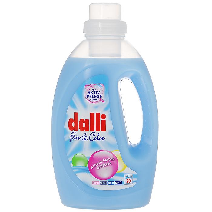 """Гель для стирки тонкого и цветного белья Dalli """"Fein & Color"""", 1,35 л 523931"""