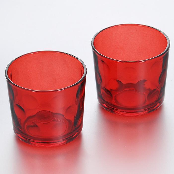 Набор подсвечников Pasabahce Grace, цвет: красный, диаметр 6 см, 2 шт53143RНабор Pasabahce Grace состоит из двух подсвечников красного цвета, выполненных из прочного натрий-кальций-силикатного стекла. Внутренняя поверхность оформлена рельефом в виде кругов. Набор подсвечников украсит интерьер помещения и создаст романтичную атмосферу. Подходит для чайных свечей. Характеристики: Материал: натрий-кальций-силикатное стекло. Цвет: красный. Диаметр подсвечника: 6 см. Высота подсвечника: 5,5 см. Комплектация: 2 шт. Размер упаковки: 17 см х 8 см х 6 см. Артикул: 53143R.