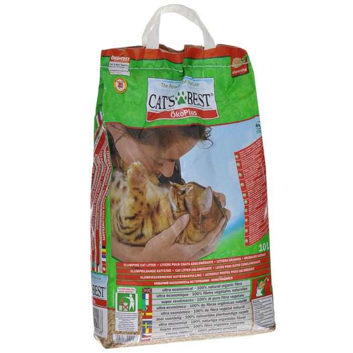 Наполнитель для кошачьего туалета Cats Best Eko Plus, древесный, 10 лKB-02Наполнитель для кошачьего туалета Cats Best Eko Plus вырабатывается из необработанной европейской еловой и сосновой древесины, которая берётся из свежеупавших стволов. Применение некондиционной древесины сохраняет здоровые природные лесные ресурсы. Особенности наполнителя для кошачьего туалета Cats Best Eko Plus: экологически чистый и биоразлагаемый на 100%. Вырабатывается из необработанной европейской еловой и сосновой древесины, которая берется из свежеупавших стволов. Применение некондиционной древесины сохраняет здоровые природные лесные ресурсы. Не содержит искусственных химических добавок; очень экономичный. Примерно в 3 раза выгоднее многих других комкующихся наполнителей. Он может существенно дольше оставаться в кошачьем лотке, и тем самым является более экономичной альтернативой многих, как ошибочно полагают, более дешевых наполнителей, что подтверждают сравнительные тесты; прекрасно поглощает неприятные запахи. Неприятный запах эффективно и в...