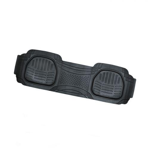 Коврик автомобильный Автопрофи / Autoprofi Transform, термопласт, цвет: черный, 51 х 166 смTER-003 BKУниверсальный сдвоенный коврик для заднего ряда Автопрофи / Autoprofi Transform отличается лаконичным, но в то же время функциональным дизайном. Наличие множества насечек на поверхности коврика позволяет с помощью ножниц корректировать размер и форму изделия, адаптируя его под салон автомобиля. Коврик изготовлен из термопласта-эластомера, сохраняющего эластичность даже при экстремально низких температурах - до -50 °С. Легкий и износостойкий материал устойчив к воздействию агрессивных веществ, таких как масло, топливо или дорожные реагенты, и не обладает характерным запахом резины. Характеристики: Материал: термопласт-эластомер. Размер коврика: 510 мм х 1660 мм. Температура использования: от -50 до +50 °С. Артикул: TER-003 BK.