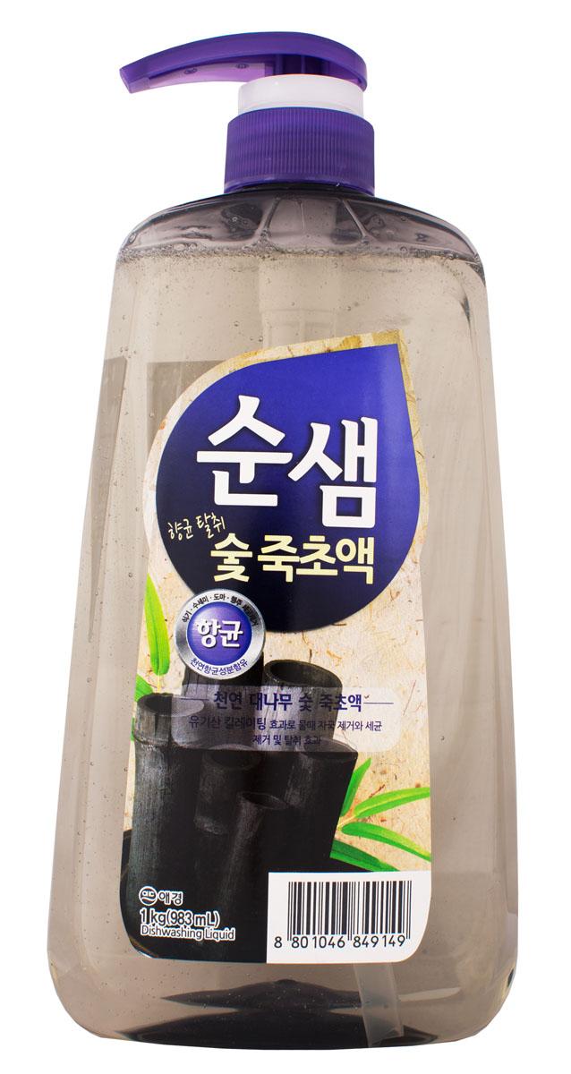 Средство для мытья посуды Soonsaem Бамбуковый уголь, 1 л849149Средство для мытья посуды Soonsaem Бамбуковый уголь имеет следующие особенности: - антибактериальное - удаляет болезнетворные бактерии, микробы и неприятные запахи; - не содержит искусственных красителей; - не оставляет разводов (идеально для мытья посуды из стекла); - подходит для мытья фруктов и овощей; - является средством для мытья посуды высшей категории. Товар сертифицирован.
