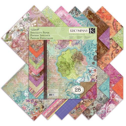 Набор бумаги для скрапбукинга K&Company Семейный юбилей, 31 х 31 см, 28 листовKCO-30-388963Набор бумаги для скрапбукинга K&Company позволит создать красивый альбом, фоторамку или открытку ручной работы, оформить подарок или аппликацию. Набор включает 28 листов из плотной бумаги с двухсторонней печатью, всего 14 видов. Из них 16 листов матовые, 2 листа с блестками, 4 листа с тиснением фольгой, 2 листа покрыты тонким слоем белой пены, 2 листа блестящие. Бумага не содержит лигнин и кислоты. Скрапбукинг - это хобби, которое способно приносить массу приятных эмоций не только человеку, который этим занимается, но и его близким, друзьям, родным. Это невероятно увлекательное занятие, которое поможет вам сохранить наиболее памятные и яркие моменты вашей жизни, а также интересно оформить интерьер дома. Характеристики: Материал: бумага. Размер листа: 31 см х 31 см. Количество листов: 28. Размер упаковки: 31 см х 32,5 см х 0,7 см. Артикул: KCO-30-388963.