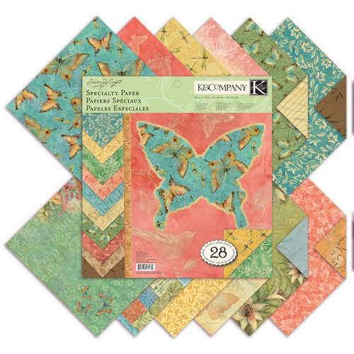 Набор бумаги для скрапбукинга K&Company Секреты природы, 31 см х 31 см, 28 листовKCO-30-389236Набор бумаги для скрапбукинга K&Company позволит создать красивый альбом, фоторамку или открытку ручной работы, оформить подарок или аппликацию. Набор включает 28 листов из плотной бумаги с двухсторонней печатью, всего 14 видов. Из них 16 листов матовые, 6 листов с блестками, 2 листа блестящие, 2 листа с тиснением фольгой. Бумага не содержит лигнин и кислоты. Скрапбукинг - это хобби, которое способно приносить массу приятных эмоций не только человеку, который этим занимается, но и его близким, друзьям, родным. Это невероятно увлекательное занятие, которое поможет вам сохранить наиболее памятные и яркие моменты вашей жизни, а также интересно оформить интерьер дома. Характеристики: Материал: бумага. Дизайн: Susan Winget. Размер листа: 31 см х 31 см. Количество листов: 28. Размер упаковки: 31 см х 32,5 см х 0,7 см. Артикул: KCO-30-389236.