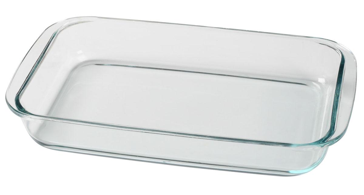 Форма Bekker для СВЧ, 2,5 лBK-8801Форма Bekker, изготовленная из термостойкого стекла прямоугольной формы, будет отличным выбором для всех любителей блюд, приготовленных в духовке, микроволновой печи или прямо на плите. Форма не вступает в реакцию с готовящейся пищей, а потому не выделяет никаких вредных веществ, не подвергается воздействию кислот и солей. Из-за невысокой теплопроводности пища в стеклянной посуде гораздо медленнее остывает. Стеклянная форма очень удобна для приготовления и подачи самых разнообразных блюд: супов, вторых блюд, десертов. Благодаря прозрачности стекла, за едой можно наблюдать при ее готовке, еду можно видеть при подаче, хранении. Используя эту форму, вы можете как приготовить пищу, так и изящно подать ее к столу, не меняя посуды. Можно мыть и сушить в посудомоечной машине. Характеристики: Материал: стекло. Размер формы: 34,5 см х 20,5 см х 5 см. Объем: 2,5 л. Размер упаковки: 34,5 см х 21 см х 5,5 см.