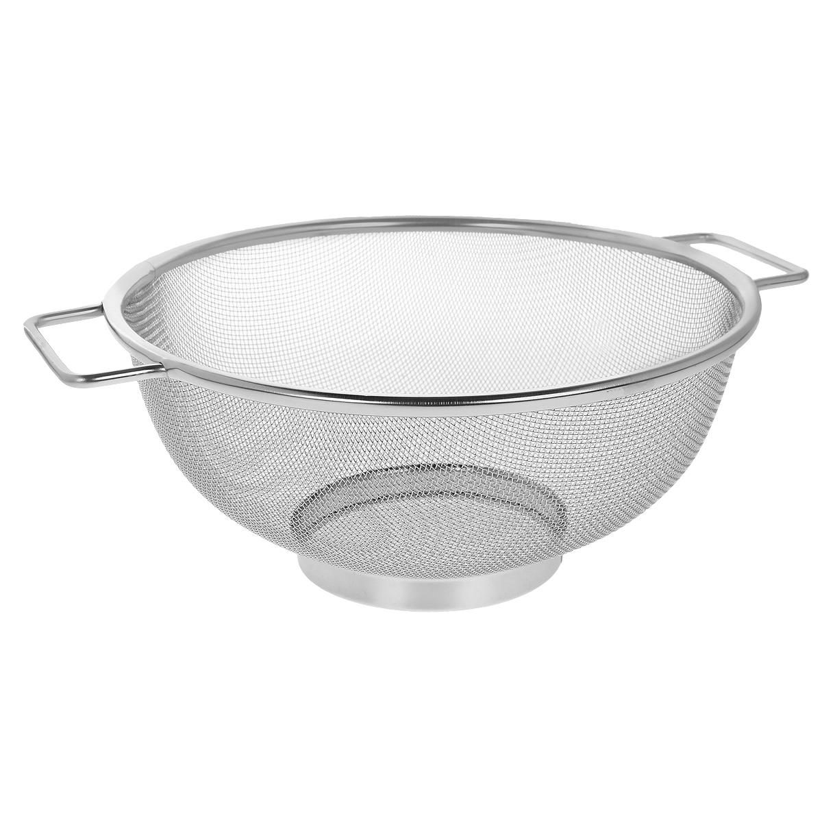 Сито Bekker, диаметр 23 см. BK-9221BK-9221Сито Bekker, выполненное из нержавеющей стали, станет незаменимым аксессуаром на вашей кухне. Предназначено для просеивания и процеживания муки, промывания круп, ягод и фруктов. Сито оснащено удобными ручками. Прочная стальная сетка и корпус обеспечивают изделию износостойкость и долговечность. Подходит для чистки в посудомоечной машине. Характеристики: Материал: нержавеющая сталь. Диаметр: 23 см. Высота: 10 см. Производитель: Германия. Изготовитель: Китай. Артикул: BK-9221.