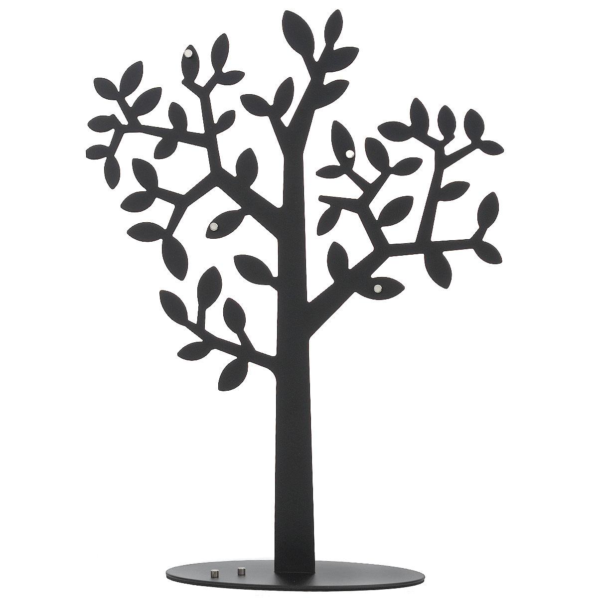 Держатель для фото Umbra Laurel, цвет: черный. 306600-04054 009303Держатель для фото Umbra Laurel станет не только прекрасным декоративным украшением стола, но и послужит функционально: поместите в держатель вашу любимую фотографию, и она будет радовать вас каждый день, напоминая о приятных мгновениях. Держатель выполнен из металла в виде дерева. Такой сувенир, несомненно, доставит море положительных эмоций своему обладателю. Общий размер держателя: 41 см х 29 см x 4 см.