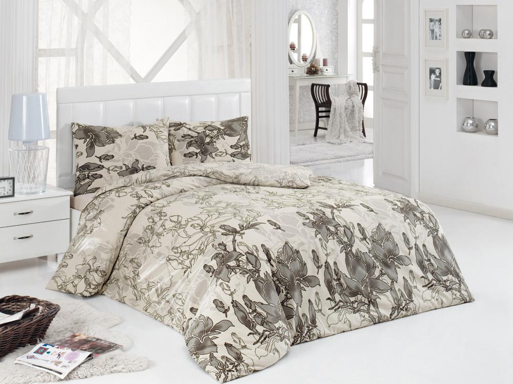 Постельное белье ASTERIA Home Yagmur (1,5 спальный КПБ, сатин, наволочки 50х70)YagmurКомплект постельного белья ASTERIA Home Yagmur, изготовленный из сатина, поможет вам расслабиться и подарит спокойный сон. Постельное белье имеет изысканный внешний вид и обладает яркостью и сочностью цвета. Комплект состоит из пододеяльника, простыни и двух наволочек. Благодаря такому комплекту постельного белья вы сможете создать атмосферу уюта и комфорта в вашей спальне. Сатин производится из высших сортов хлопка, а своим блеском, легкостью и на ощупь напоминает шелк. Такая ткань рассчитана на 200 стирок и более. Постельное белье из сатина превращает жаркие летние ночи в прохладные и освежающие, а холодные зимние - в теплые и согревающие. Благодаря натуральному хлопку, комплект постельного белья из сатина приобретает способность пропускать воздух, давая возможность телу дышать. Одно из преимуществ материала в том, что он практически не мнется и ваша спальня всегда будет аккуратной и нарядной. Рекомендации по уходу: - Стирка при температуре 40°С....