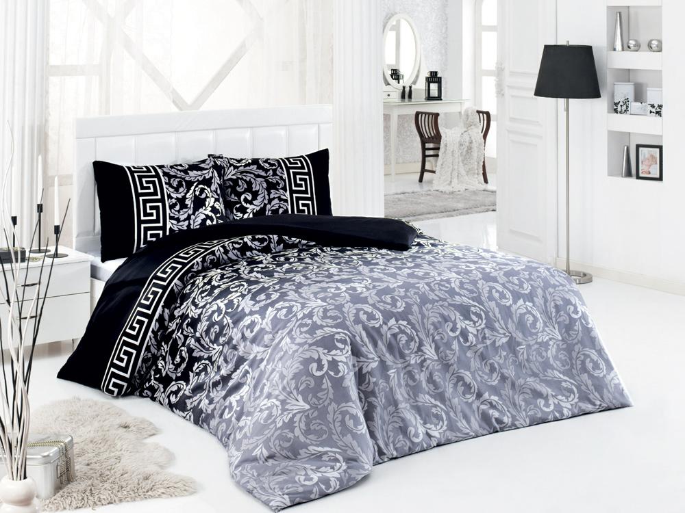 Постельное белье ASTERIA Home Silvery (2-х спальный КПБ, сатин, наволочки 50х70)SilveryКомплект постельного белья ASTERIA Home Silvery, изготовленный из сатина, поможет вам расслабиться и подарит спокойный сон. Постельное белье имеет изысканный внешний вид и обладает яркостью и сочностью цвета. Комплект состоит из пододеяльника, простыни и двух наволочек. Благодаря такому комплекту постельного белья вы сможете создать атмосферу уюта и комфорта в вашей спальне. Сатин производится из высших сортов хлопка, а своим блеском, легкостью и на ощупь напоминает шелк. Такая ткань рассчитана на 200 стирок и более. Постельное белье из сатина превращает жаркие летние ночи в прохладные и освежающие, а холодные зимние - в теплые и согревающие. Благодаря натуральному хлопку, комплект постельного белья из сатина приобретает способность пропускать воздух, давая возможность телу дышать. Одно из преимуществ материала в том, что он практически не мнется и ваша спальня всегда будет аккуратной и нарядной. Рекомендации по уходу: - Стирка при температуре 40°С....
