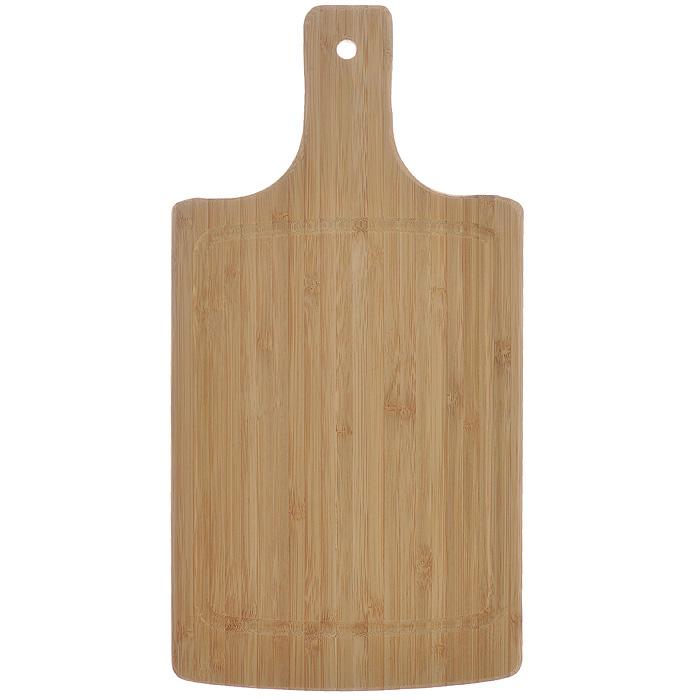 Доска кухонная Flutto, 34,5 см х 17,5 см х 1,5 см. FB-PFB-PДоска кухонная Flutto изготовлена из бамбука. Прекрасно подходит для приготовления и сервировки пищи. Всем известно, что на кухне без разделочной доски не обойтись! Ведь во время приготовления пищи мы то и дело что-то режем. Поэтому разделочная доска должна быть изготовлена из прочного и экологически чистого материала, ведь с ней соприкасается наша пища. Характеристики: Материал: бамбук. Размер: 34,5 см х 17,5 см х 1,5 см. Производитель: Германия. Артикул: FB-P.