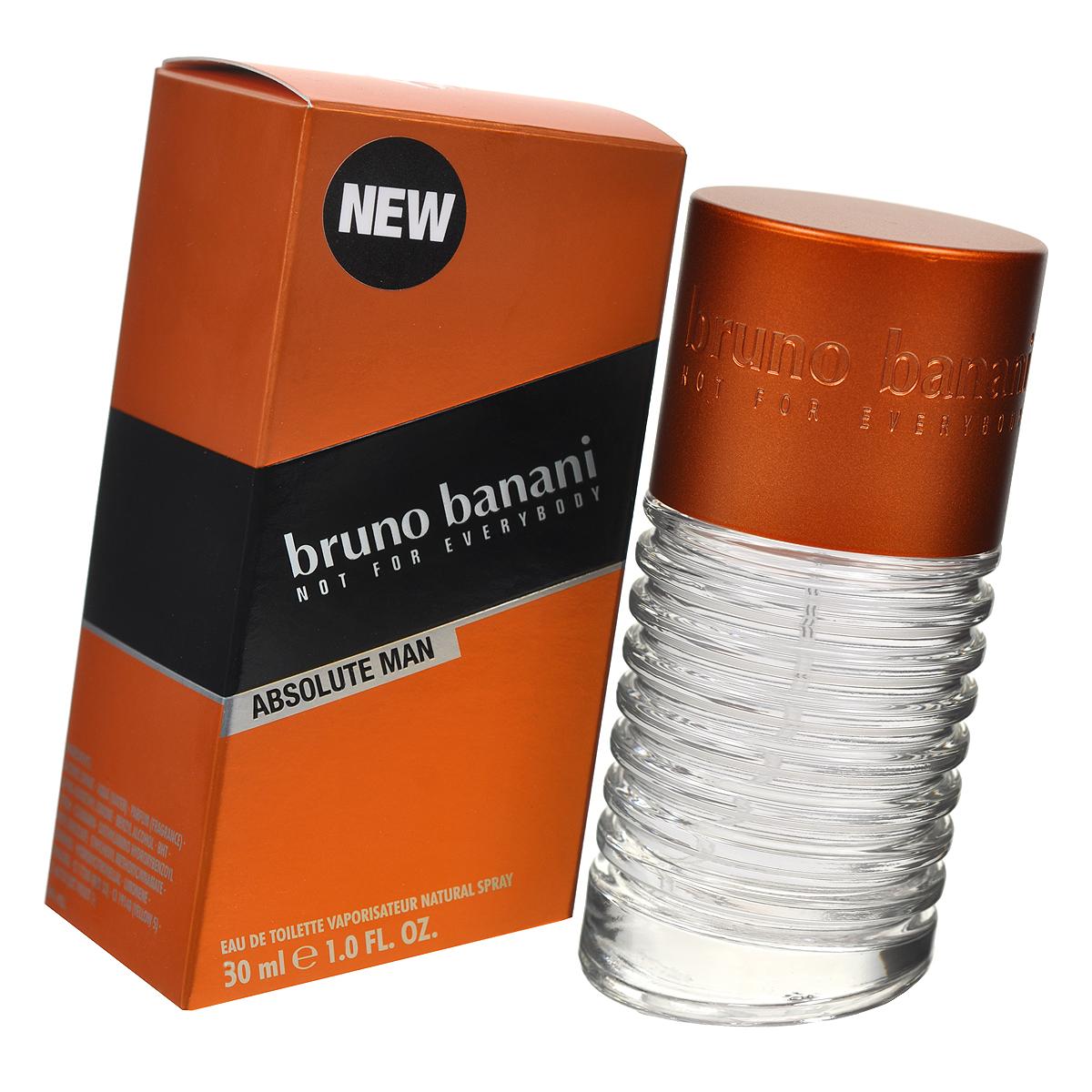 """Bruno Banani Туалетная вода """"Absolute Man"""", мужская, 30 мл 0737052769080"""