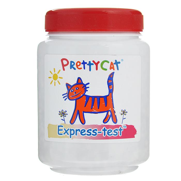 Экспресс-тест на мочекаменную болезнь Pretty Cat, 110 г0120710Экспресс-тест на мочекаменную болезнь Pretty Cat предназначен для выявления у кошек мочекаменной болезни. Своевременно диагностирует мочекаменную болезнь, цистит, вирусные инфекции, урологию. Просто насыпьте содержимое банки сверху наполнителя. После посещения кошкой лотка через 1-2 минуты проверьте цвет и сравните со шкалой, указанной на упаковке. - Желтый - норма; - Бледно-розовый - Внимание! Повторите тест 2-3 дня подряд; - Ярко-розовый - срочно к врачу. С экспресс-тестом Pretty Cat вы всегда будете знать, здорова ли ваша кошка. Одобрено Европейской ветеринарной службой.Состав: Perlit (минерал перлит), запатентованные водорастворимые индикаторы и полимеры. Товар сертифицирован.