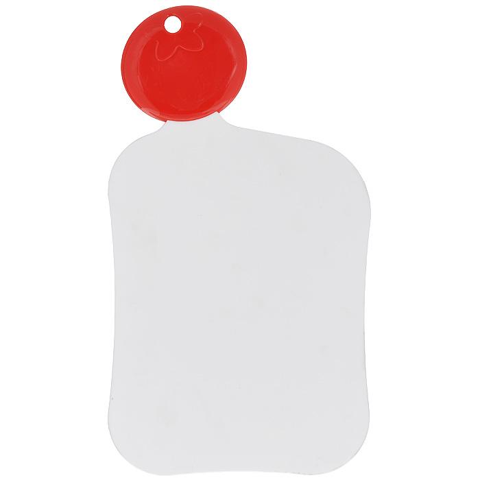 Доска разделочная Premier Housewares Помидорка, цвет: белый, 21 х 17 см1207910Разделочная доска Premier Housewares Помидорка, выполненная из белого пластика, станет незаменимым аксессуаром на вашей кухни. Такая доска прекрасно подойдет для нарезки любых продуктов. Доска оснащена оригинальной ручкой в виде помидора, на которой расположено отверстие для подвешивания на крючок. Функциональная и простая в использовании разделочная доска Premier Housewares Помидорка разнообразит и освежит интерьер кухни, а также прослужит вам долгое время. Характеристики: Материал: пластик. Цвет: белый. Размер доски (без учета ручки): 21 см х 17 см х 0,4 см. Длина ручки: 7 см. Артикул: 1207910.