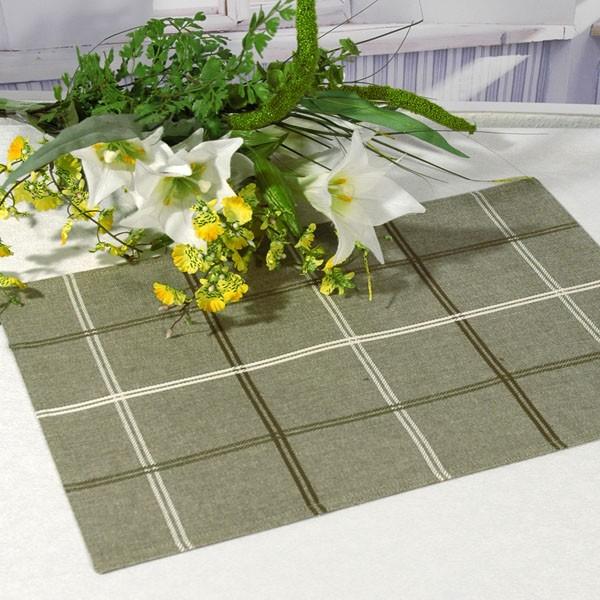 Салфетки под столовые приборы Schaefer, цвет: серый, 33 см х 48 см, 2 шт06707-308
