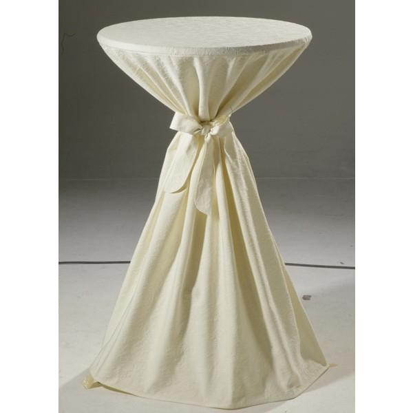 Скатерть Schaefer, круглая, цвет: шампань, диаметр 170 см. 41274127/FB.00-170Великолепная скатерть Schaefer, выполненная из полиэстера и хлопка, органично впишется в интерьер любого помещения, а оригинальный дизайн удовлетворит даже самый изысканный вкус. Скатерть изготовлена из материала цвета шампань с объемным орнаментом и обладает жироводооталкивающими свойствами. Это текстильное изделие станет удобным и оригинальным украшением вашего дома! Характеристики: Материал: 30% полиэстер, 70% хлопок. Диаметр: 170 см. Цвет: шампань.