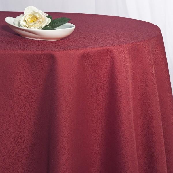 Скатерть Schaefer, круглая, цвет: красный, диаметр 170 см. 41704170/FB.04-170Великолепная скатерть Schaefer, выполненная из полиэстера, органично впишется в интерьер любого помещения, а оригинальный дизайн удовлетворит даже самый изысканный вкус. Скатерть изготовлена из материала красного цвета с орнаментом и обладает жироводооталкивающими свойствами. Это текстильное изделие станет удобным и оригинальным украшением вашего дома! Характеристики: Материал: 100% полиэстер. Размер: 170 см х 170 см. Цвет: красный.