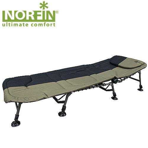 Кровать карповая Norfin Cambridge NFNF-20608Кровать складная Norfin Cambridge NF. Имеет мягкую подушку, восемь независимо регулируемых по высоте ножек с широкими опорами. Характеристики: Материал: полиэстер, алюминий. Размер кровати: 210 см х 85 см х 30 см. Размер кровати в сложенном виде: 83 см х 75 см х 25 см. Максимальная нагрузка: 140 кг. Диаметр трубок каркаса: 2,2 см, 2,5 см.