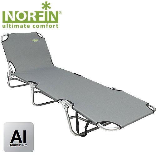 Кровать складная Norfin Espoo NFNF-20504Кровать-раскладушка складная Norfin Espoo NF классическая с алюминиевым каркасом. В сложенном виде она не занимает много места, поэтому отлично подойдет для отдыха на природе. С обратной стороны стягивающие резинки через каждые 20 см. Характеристики: Материал: TX 1 x 1, алюминий. Размер кровати: 190 см х 58 см х 25 см. Размер кровати в сложенном виде: 49 см х 58 см х 20 см. Максимальная нагрузка: 120 кг. Диаметр трубок каркаса: 2,2 см.