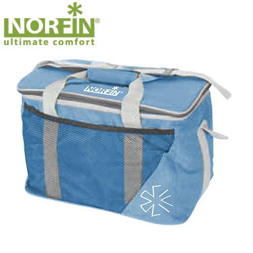 "Термосумка Norfin ""Luiro-M NFL"", цвет: голубой, 43 см х 25 см х 27 см NFL-40103"