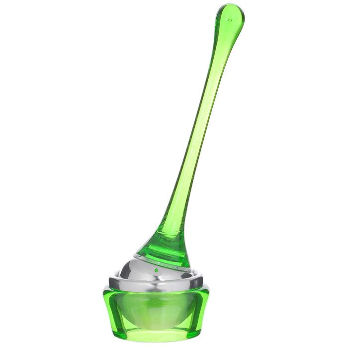Приспособление для заваривания чая Bradex Марберри, цвет: зеленыйTK 0052Приспособление для заваривания чая Bradex Марберри выполнено из акрила зеленого цвета и нержавеющей стали. Чай - любимый напиток для многих поколений людей. Многие виды чая не только расслабляют или тонизируют, но также помогают при многих заболеваниях нервной системы и желудочно-кишечного тракта. Чтобы всегда, не только дома, но и в дороге, заваривать чай, предлагаем вам уникальное приспособление для заваривания чая. Его очень легко использовать без каких-либо дополнительных средств. С помощью этого приспособления можно не только заварить чай, но также размешать его, чтобы получить насыщенный вкус и аромат. Удобная ручка приспособления комфортно ляжет в руку. Яркий цвет этого оригинального аксессуара придется по вкусу не только ценителям вкусного чая, но также любителям оригинальных подарков. В комплект к приспособлению входит подставка для него, что позволит вам избежать загрязнений поверхности стола. Очень удобно во время поездок на дачу, в путешествиях...