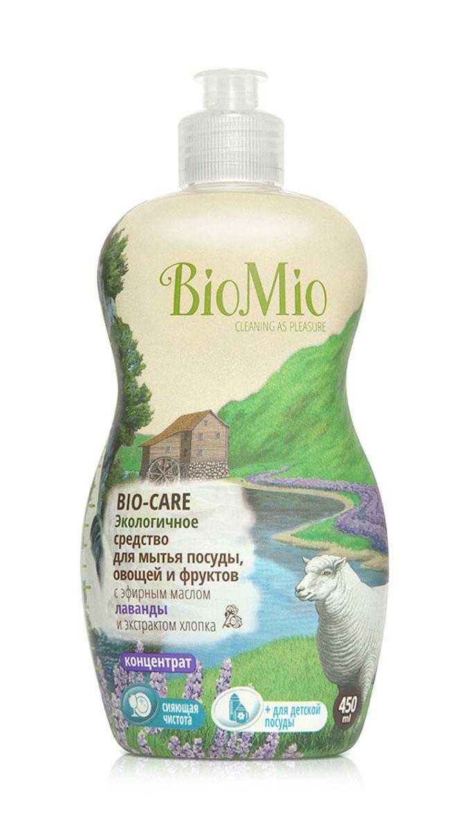 Средство для мытья посуды, овощей и фруктов BioMio, с эфирным маслом лаванды, 450 млЭЛ-241Многофункциональное эффективное средство BioMio с мягким безопасным действием идеально подходит для мытья детской посуды, овощей и фруктов. Концентрированная формула обеспечивает экономичный расход. Специальная формула с экстрактом хлопка обеспечивает мягкое и деликатное действие на кожу рук. Подтвержденный антибактериальный эффект с дополнительной защитой для всех членов семьи благодаря ионам серебра. Безопасно для окружающей среды. Аромат лаванды быстро восстанавливает силы, расслабляет и успокаивает. Не содержит: фосфаты, агрессивные ПАВ, SLS/SLES, ПЭГ, хлор, нефтепродукты, искусственные ароматизаторы и красители. BioMio - линейка эффективных средств для дома, использование которых приносит только удовольствие. Уборка помогает не только очистить и гармонизировать свое пространство, но и себя, свои мысли, поэтому важно ее делать с радостью. Средства, созданные с любовью и заботой, помогут в этом и идеально справятся с загрязнениями, ...