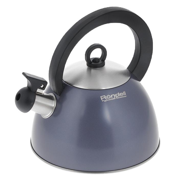 Чайник Rondell Flute, со свистком, 2 лRDS-362Чайник Rondell Flute изготовлен из высококачественной нержавеющей стали 18/10, благодаря чему не подвержен коррозии, устойчив к органическим кислотам, долговечен и прост в уходе. Капсулированное дно чайника способствует быстрому закипанию воды даже при небольшой мощности конфорок. Стильное водно-силиконовое покрытие легко в уходе и обеспечивает безупречный внешний вид. Аксессуары выполнены из бакелита. Эргономичная ручка делает использование чайника очень удобным и безопасным. Наличие свистка позволяет следить за кипением чайника. Свисток снабжен стальной сердцевиной и устройством для открывания носика. Стильный дизайн изделия украсит любую кухню. Чайник подходит для использования на всех видах плит, включая индукционные. Нельзя мыть в посудомоечной машине. Характеристики: Материал: нержавеющая сталь 18/10, бакелит. Объем: 2 л. Диаметр основания чайника: 20 см. Высота чайника (без учета крышки и ручки): 12 см. Высота чайника (с учетом...