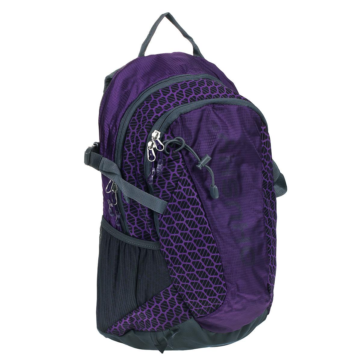 Рюкзак городской Husky Minel 22, цвет: фиолетовыйП7079Рюкзак городской Husky Minel 22 подойдет не только для повседневной жизни, но и для отдыха на природе, путешествий, тогда, когда нужно иметь с собой не только ноутбук, но и другие приложения, которые запросто поместятся в этом рюкзаке.Особенности: водонепроницаемая ткань, система вентиляции спины AMS,отделение для ноутбука, внутренний органайзер,боковые карманы-сетки,светоотражающие элементы.