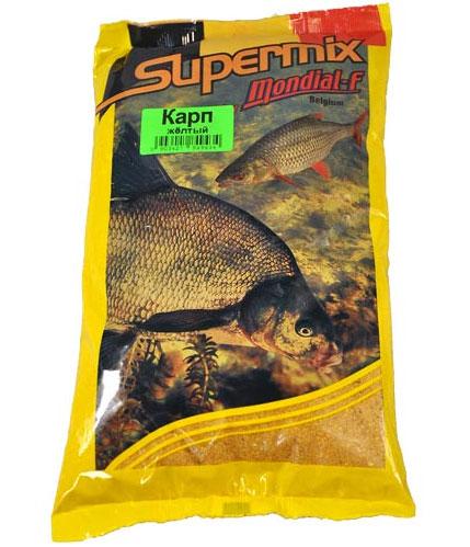 Прикормка Mondial-F Supermix: Карп желтый, 1 кг49744Прикормка Mondial-F Supermix: Карп желтый предназначена для ловли пресноводных рыб. Состоит из натуральных компонентов. Прикормки отличает оригинальная рецептура, обеспечивающая высокую эффективность при очень привлекательной цене, именно поэтому они столь популярны в Европе. Ассортимент представлен тремя сериями, включающими в себя как универсальные, так и специализированные прикормки. Состав: печенья, бисквиты, зерна, минералы, натуральные ароматы.