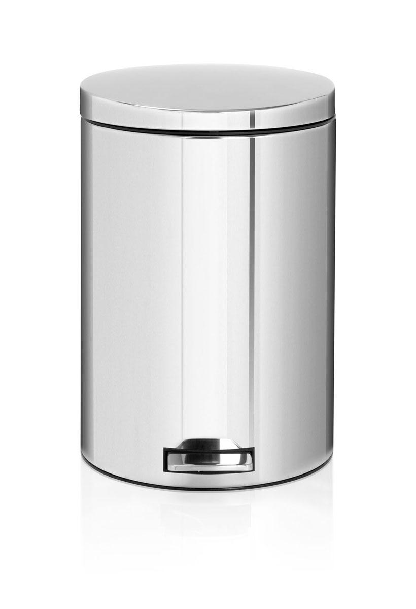 Бак мусорный Brabantia Бесшумный, с педалью, цвет: стальной, 20 л478369Элегантный и функциональный мусорный бак Brabantia с педалью на 20 литров идеально подходит для использования на кухне и сортировки мусора. Механизм MotionControl обеспечивает мягкое действие педали и бесшумное открывание крышки; Удобный в использовании - при открывании вручную крышка фиксируется в открытом положении, закрывается нажатием педали; Идеальное решение для раздельного сбора мусора - съемное отдельное ведро для отходов, пригодных для компостирования (1,5 л); Надежный педальный механизм, высококачественные коррозионно-стойкие материалы; Удобная очистка - съемное внутреннее пластиковое ведро; Отличная устойчивость даже на мокром и скользком полу – нескользящая основа; Предохранение пола от повреждений - пластиковое защитное основание; Всегда опрятный вид – идеально подходящие по размеру мешки для мусора с завязками (размер 15-20 л, размер E); 10-летняя гарантия Brabantia. Характеристики: Материал: сталь. Размер:...