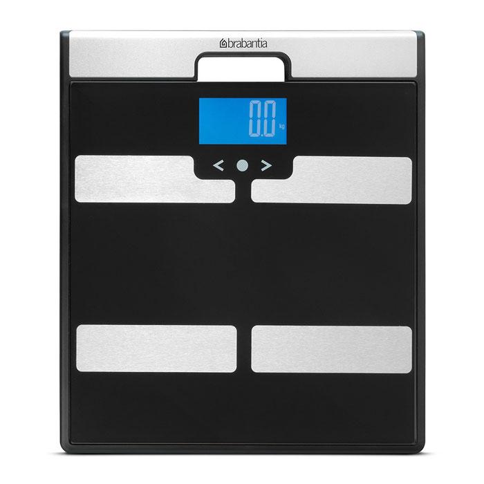 Весы для ванной комнаты Brabantia, с мониторингом весаPW 3370Весы для ванной комнаты Brabantia - это простые и удобные в эксплуатации весы с широкой платформой и большим дисплеем. С их помощью контролировать свой вес очень просто и легко. Встроенная система записи поможет отслеживать динамику веса, процентного содержания жира и мышечной массы в организме и т.д. Выберите личный номер и введите свои данные (возраст, пол, рост, и др.) в память весов. В памяти может храниться информация 8 пользователей. Встаньте босыми ногами на весы и подождите, пока Ваш вес сохраняется. Через несколько секунд дисплей отобразит различные физические показатели (процентное содержание жира, мышечной массы тела и жидкости, индекс массы тела). Запишите полученные данные в личном дневнике, чтобы отслеживать динамику веса, процентного содержания жира и мышечной массы в организме и т.д. Весы оснащены прочным противоскользящим покрытием и удобной рукояткой. Контролируйте свое здоровье с помощью весов Brabantia. Работают от батареек. В комплекте 4 батарейки ААА/1,5 В. В комплекте подробная инструкция на русском языке и дневник для записи показателей. Размер весов: 31 см х 35 см х 2см.