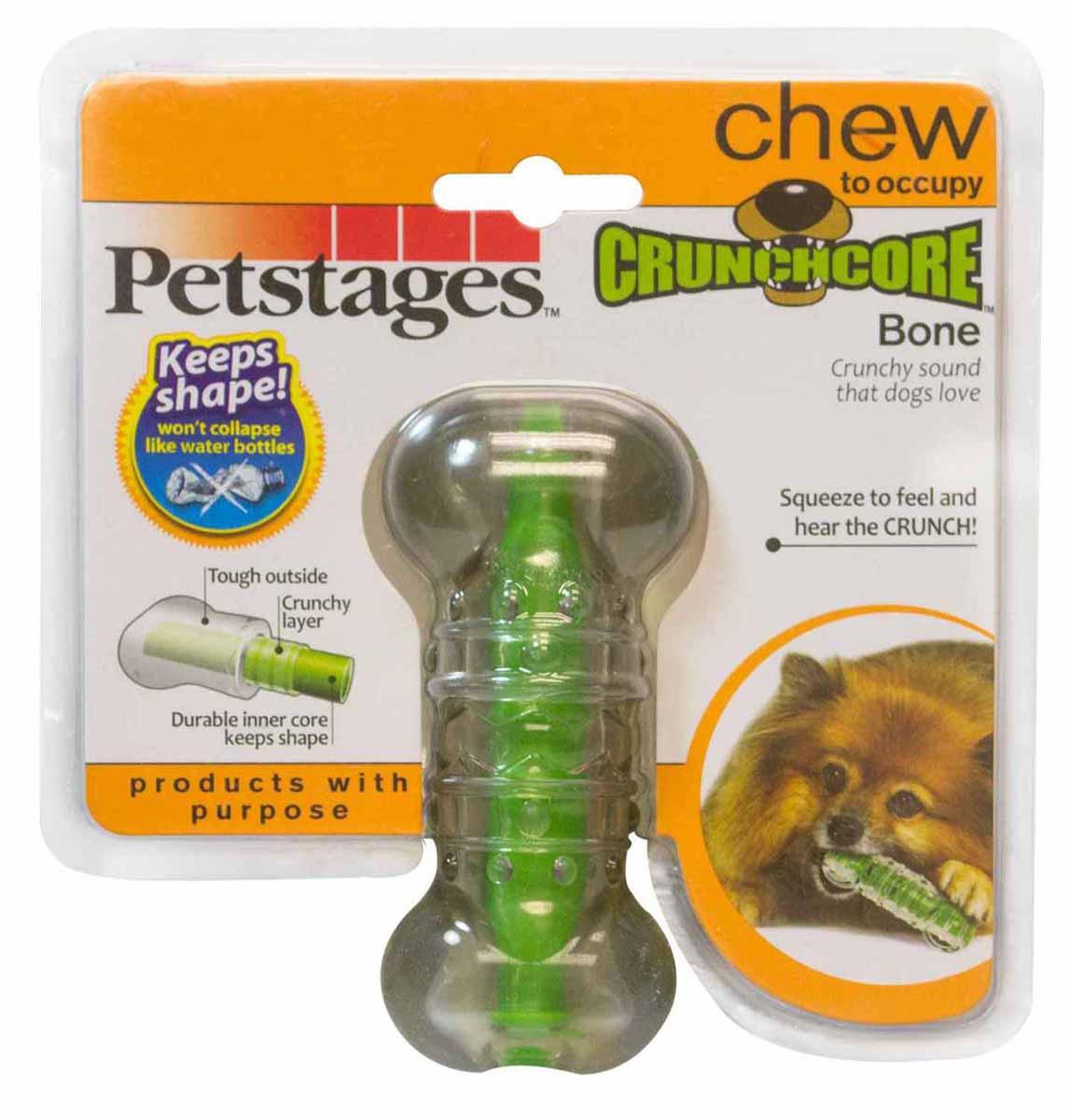 Игрушка для собак Petstages Хрустящая косточка, длина 11 см. 264YEX264YEXИгрушка для собак Petstages Хрустящая косточка предназначена для собак мелких пород. Выполнена из прочной и гибкой синтетической резины. Внутри игрушки имеется сердечник, выполненный из резины и пластика. Пластик издает хрустящий звук в процессе игры, что привлекает собак. Длина игрушки: 11 см. Товар сертифицирован.