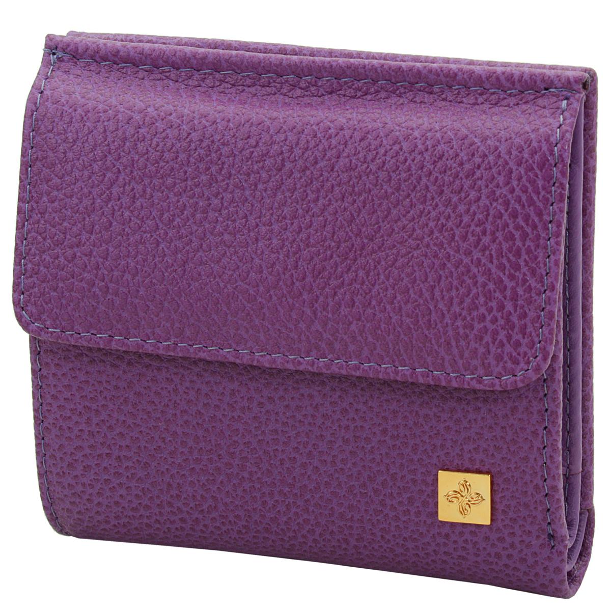 Кошелек женский Dimanche Purpur, цвет: пурпурный. 103103Женский компактный кошелек Purpur выполнен из натуральной высококачественной кожи с декоративным тиснением. Снаружи - объемный карман для мелочи, закрывается на кнопку. Внутри располагаются один карман для купюр с потайным отделением на молнии и карман для бумаг и небольших документов, также имеются два отделения для кредиток, кармашек для sim-карты, два смежных вертикальных кармана и карман с прозрачной стенкой. Кошелек упакован в фирменную картонную коробку. Характеристики: Материал: натуральная кожа, текстиль, металл. Размер кошелька: 10 см х 10 см х 3 см. Цвет: пурпурный.