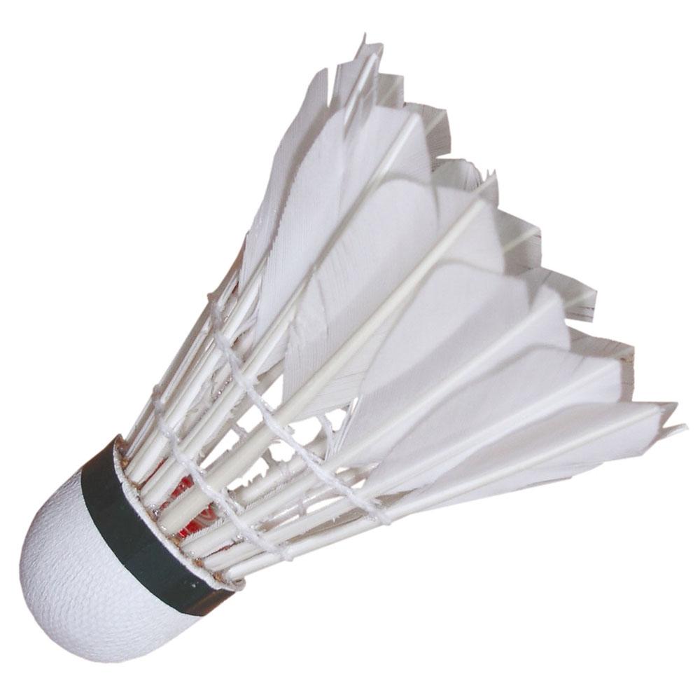 Набор перьевых воланов для бадминтона Start Up, цвет: белый, 3 шт244762Набор для бадминтона Start Up состоит из трех белых перьевых воланов. Головка волана выполнена из искусственной пробки. Волан для игры в бадминтон влияет на процесс игры не меньше, чем ракетка.