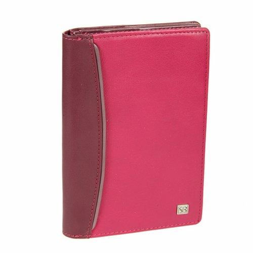 Обложка для документов Sergio Belotti, цвет: фиолетово-розовый. 1424 arezzo carmin fuxiaBM8434-58AEОбложка для автодокументов Sergio Belotti выполнена из натуральной высококачественной кожи. Кожа обработана экстрактами на растительной основе, поэтому она безопасна для здоровья и является экологически чистым продуктом. Внутри имеется два отделения: в первом - съемный блок из 6 прозрачных пластиковых файлов для автодокументов, во втором - два кармашка для паспорта, 6 отделений для пластиковых карт, 2 потайных отделения, сетчатое отделение для фотографии и кармашек для sim-карты. Такая обложка не только поможет сохранить внешний вид ваших документов и защитит их от повреждений, но и станет стильным аксессуаром, который подчеркнет ваш неповторимый стиль.Обложка упакована в коробку из плотного картона с логотипом фирмы. Характеристики:Материал: натуральная кожа, текстиль, пластик. Размер обложки: 15 см х 10,5 см х 2 см. Цвет: фиолетово-розовый.