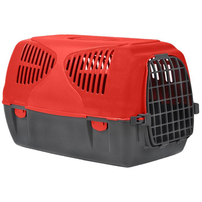 Переноска для животных MPS Sirio Big, цвет: серый, красный, 64 х 39 х 39 см0120710Переноска MPS Sirio Big, выполненная из высококачественного пластика, прекрасно подойдет для собак средних пород и кошек. Переноска оснащена крышкой с отверстиями для вентиляции. Легко собирается и разбирается. Неподвижная ручка обеспечивает большую безопасность при переноске. Самоблокирующая дверь делает транспортировку безопасной и удобной для животного и его хозяина. В комплекте - крепежи и инструкция по сборке.Характеристики: Размер переноски (Д х Ш х В): 39 см х 64 см х 39 см.